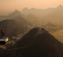 A hazy evening in Rio by Dev Wijewardane