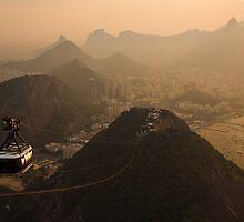 A hazy evening in Rio by Dev Wijewardane