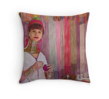 Refugee's Sorrow Bound Body and Soul 3 Throw Pillow