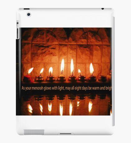 A Hanukkah Greeting iPad Case/Skin
