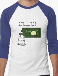 Dalek Pi Math Shirt Men's Baseball ¾ T-Shirt