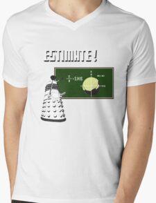 Dalek Pi Math Shirt Mens V-Neck T-Shirt