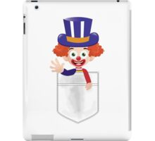 Pocket Clown iPad Case/Skin