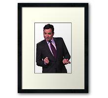 Jimmy Fallon Dancing Framed Print