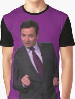 Jimmy Fallon Dancing Graphic T-Shirt