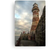HDR Roker Lighthouse Canvas Print