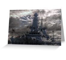 HDR  HMS Dauntless Greeting Card