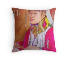 Refugee's Sorrow Bound Body and Soul 8 Throw Pillow