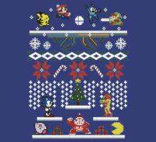 Zelda - Sonic - Mario Christmas Holiday by Darellista