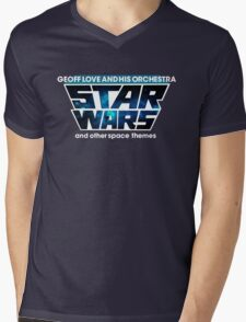 Geoff Love and his orchestra - Space Themes! Mens V-Neck T-Shirt