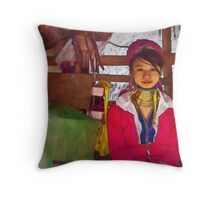 Refugee's Sorrow Bound Body and Soul 9 Throw Pillow