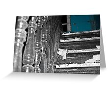Behind the blue door Greeting Card