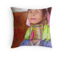 Refugee's Sorrow Bound Body and Soul 10 Throw Pillow