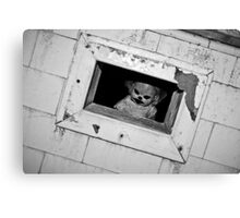 Stay outta my hatch !!! Canvas Print