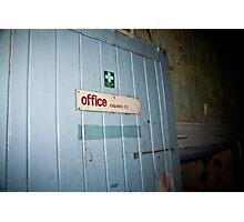 Office Photographic Print