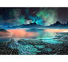 Peach Melba Lake Photographic Print