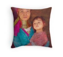 Refugee's Sorrow Bound Body and Soul 11 Throw Pillow