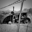 Fenced In Tractor by unstoppable