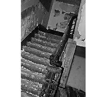 The mask and the stairs Photographic Print