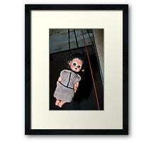 Hanging Emily Framed Print