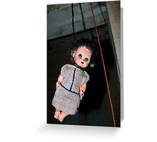Hanging Emily Greeting Card