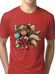 Pixel Dynasty Ahri Tri-blend T-Shirt