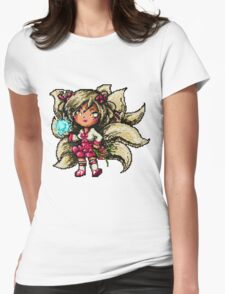 Pixel Dynasty Ahri Womens Fitted T-Shirt