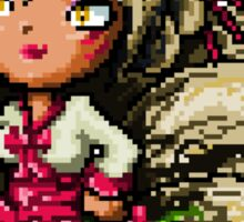 Pixel Dynasty Ahri Sticker
