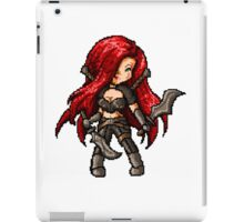 Katarina, The Pixel Blade iPad Case/Skin