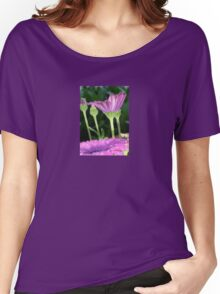 Purple And Pink Daisy Flower in Full Bloom Women's Relaxed Fit T-Shirt
