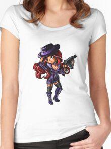 Pixel Mafia Miss Fortune Women's Fitted Scoop T-Shirt