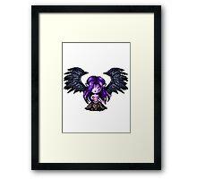 Morgana, The Fallen Pixel Framed Print