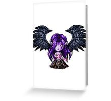Morgana, The Fallen Pixel Greeting Card