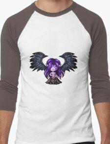 Morgana, The Fallen Pixel Men's Baseball ¾ T-Shirt