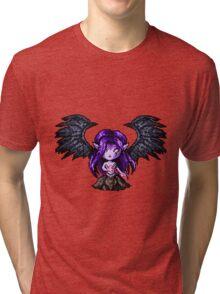 Morgana, The Fallen Pixel Tri-blend T-Shirt