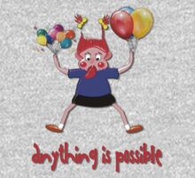 Anything is Possible T-shirt Kids Clothes