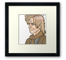 Remus Lupin Portrait Framed Print