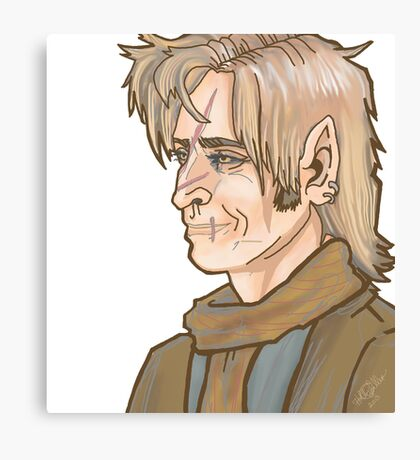 Remus Lupin Portrait Canvas Print