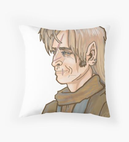 Remus Lupin Portrait Throw Pillow