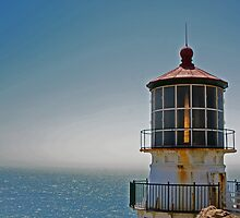 Point Rays Lighthouse by Tina Hailey