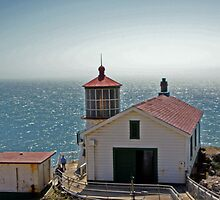 Point Rays Lighthouse 2 by Tina Hailey