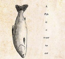 A Fish is a Treat to Eat by Jack Door
