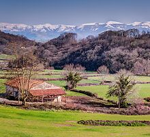 Farmhouse Basque Country by Joshua McDonough Photography