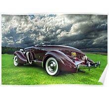 1935 Auburn Model 851 Poster