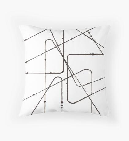A Motion Throw Pillow