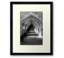 Finchale Abbey arches Framed Print