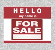 Hello My Name is For Sale  by Paul Gitto