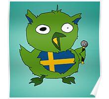swedish rock star Poster