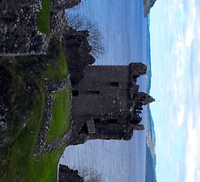 Loch Ness from Urquhart Castle, Scotland by alanf1
