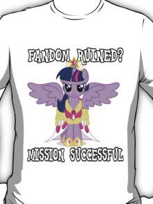 Evil Twilight Sparkle - End of Brony T-Shirt